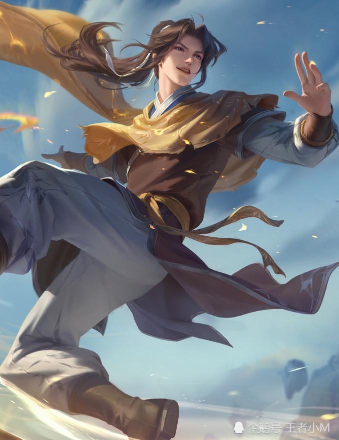 王者荣耀曜新皮肤李逍遥将一剑开启据说灵感源自于一款游戏